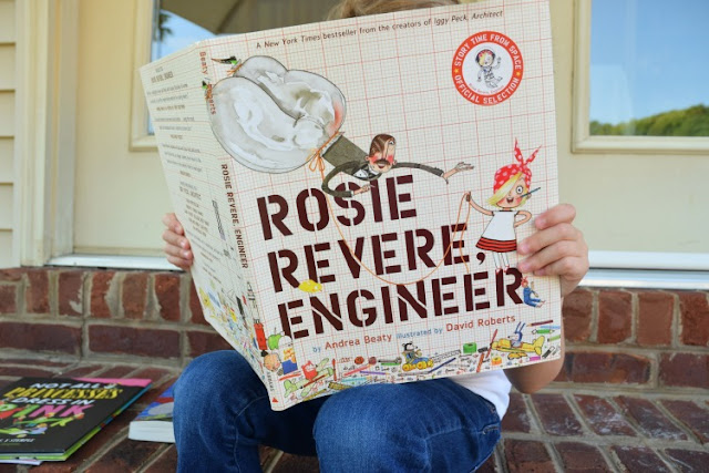 Rosie Revere, Engineer, part of May Reading Roundup