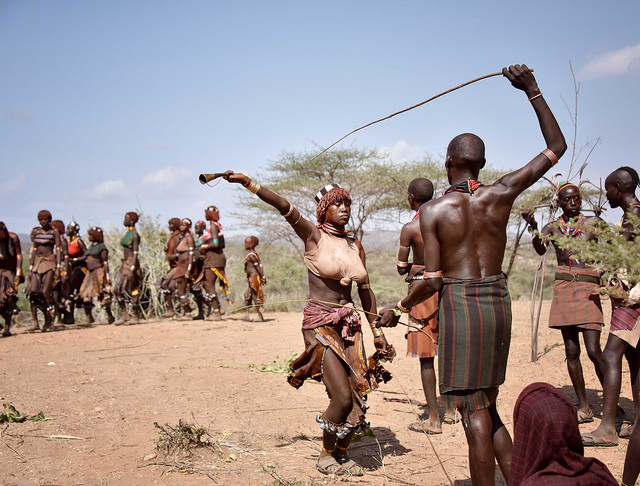 Hamar tribe of the Omo Valley