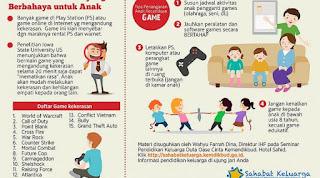 cara mengatasi anak yang kecanduan game