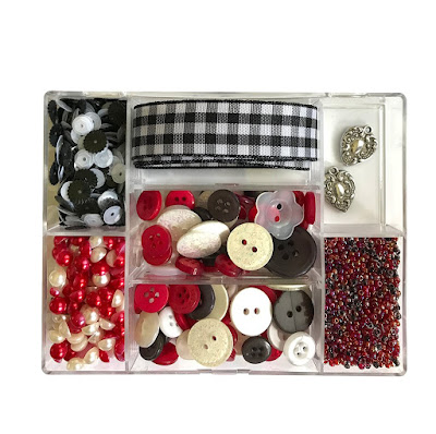 Red Plaid Party kit