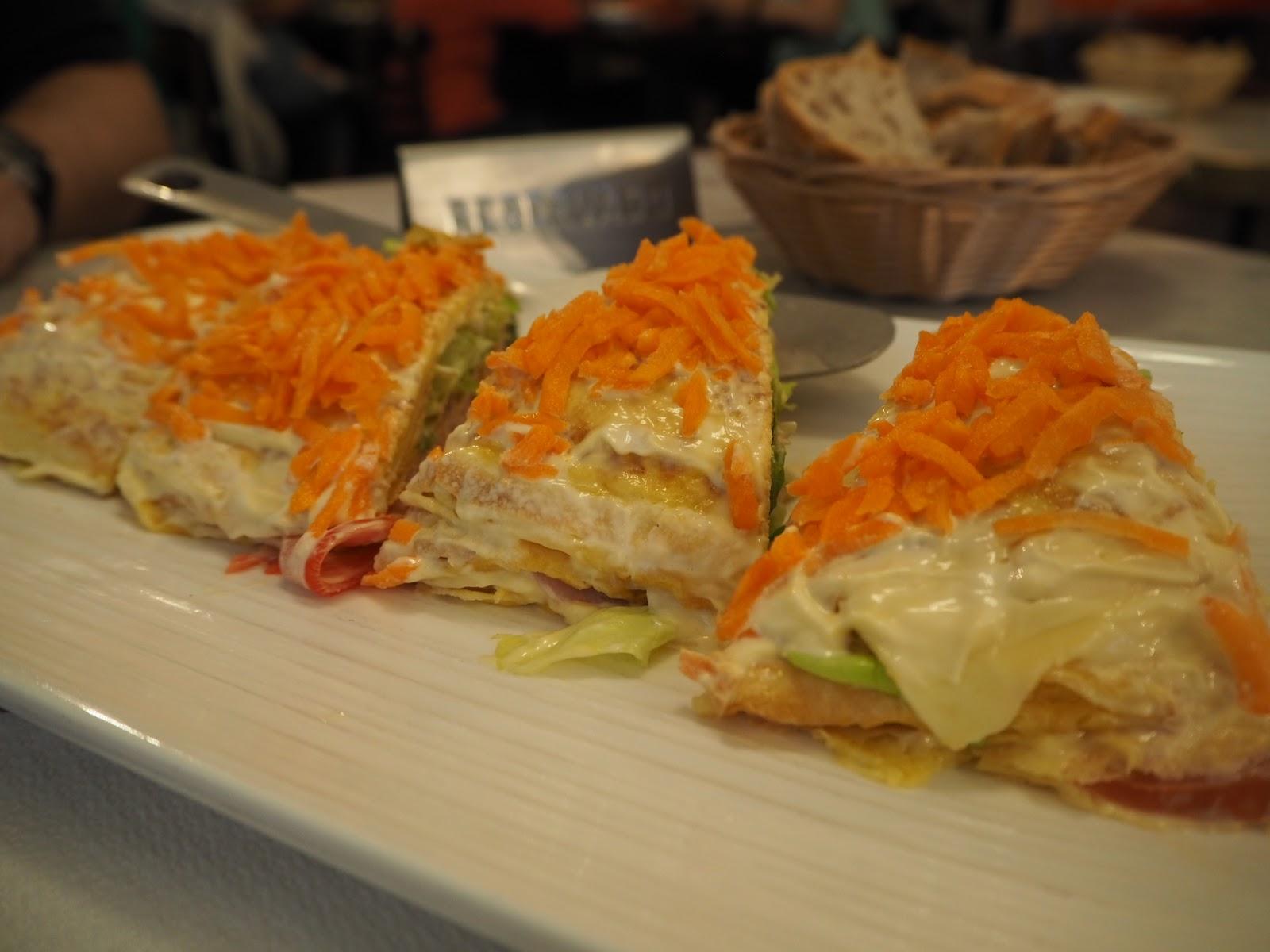 Tort naleśnikowy w A Coruna – Cafe Momos