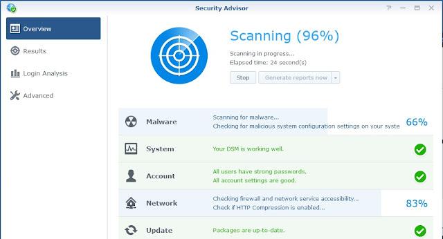 Security Advisor NAS Synology