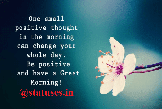 Latest Good Morning Status in Hindi