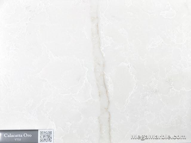 Quartz Stone Color calacatta oro v733