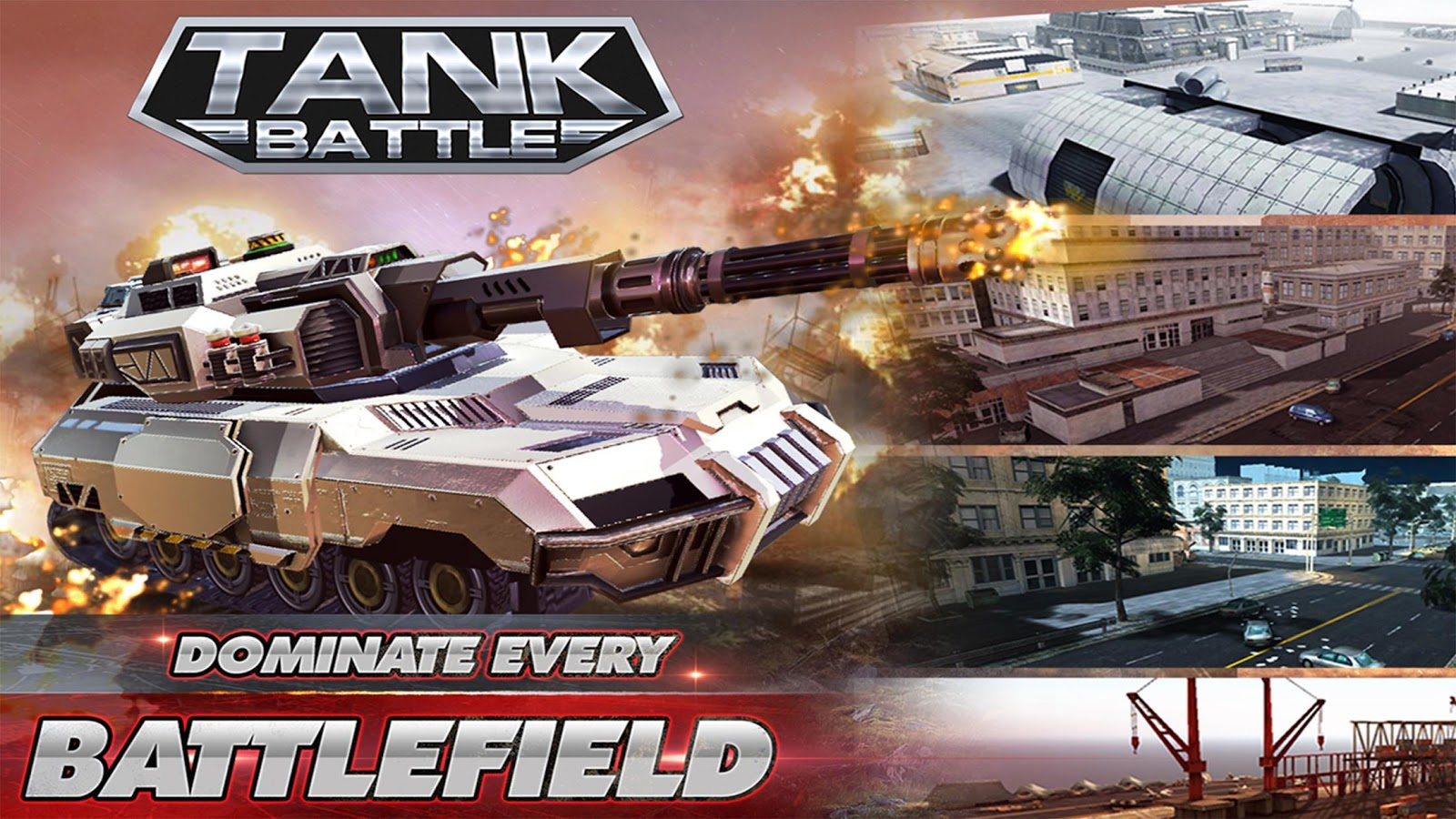 Tank Battle 3D Tank Wars Online Tank Games MOD APK terbaru