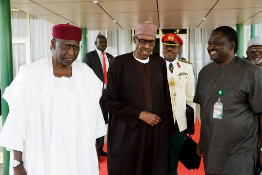 Buhari, Medical leave
