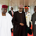 Photos Of President Buhari As He Departs To The UK For His 10-day Medical Vacation