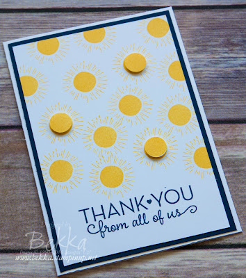Memories in the Making Thank You Card - Get the details and supplies here