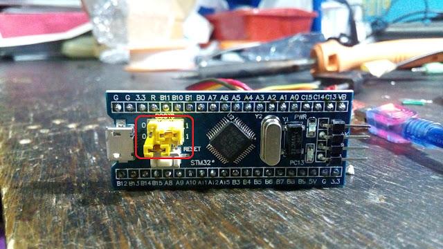 stm32 ke arduino ide