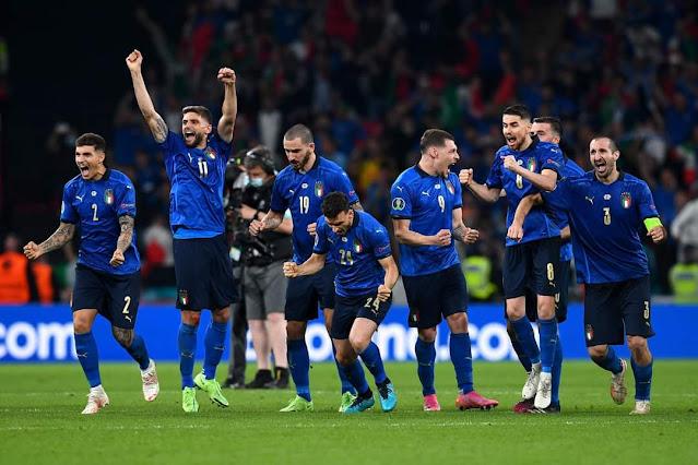 Kalahkan Inggris lewat adu penalti, Italia juara Euro 2020