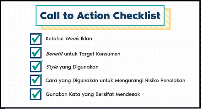 Call to Action Checklist