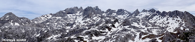Panorámica desde la cima del Camperón