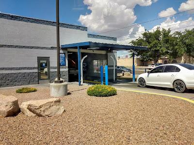 carwash entrance