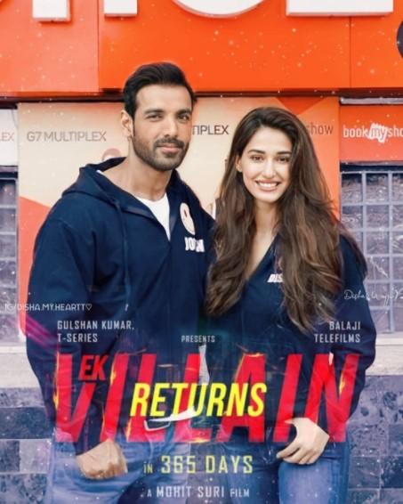 John Abraham, Mohit Suri, and Disha Patani in Ek Villain Returns (2022)