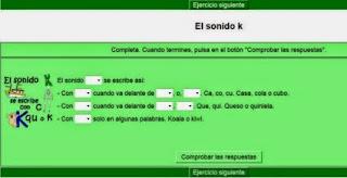 http://cplosangeles.juntaextremadura.net/web/lengua3/ortografia_3/sonido_k/k01.htm