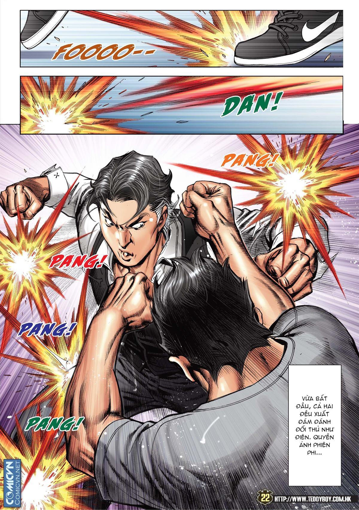 Người Trong Giang Hồ chapter 2119: nam ca vs thượng võ trang 21