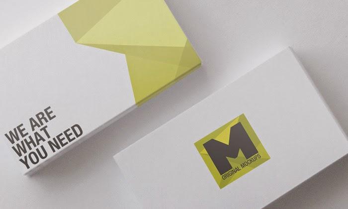 Mockup Business Card PSD