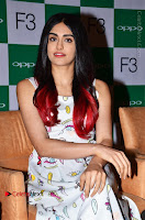 Bollywood Actress Adah Sharma Pos in White Printed Short Dress at OPPO F3 Plus Selfie Expert Mobile Launch .COM 0006.jpg