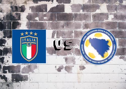 Italia vs Bosnia-Herzegovina  Resumen y Partido Completo
