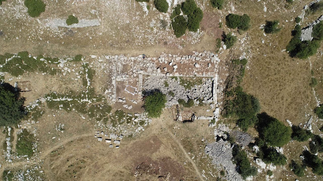 New data on the open air sanctuary of Zeus in Arcadia