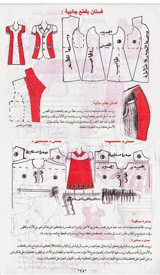 تحميل كتاب قواعد التفصيل للمبتدئات بالعربي تعليم خياطة Learn Sewing