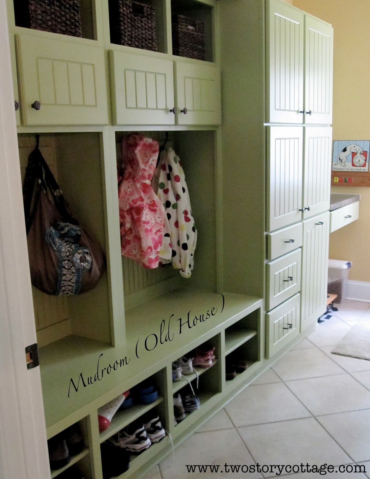Drop Zone And Mud Room