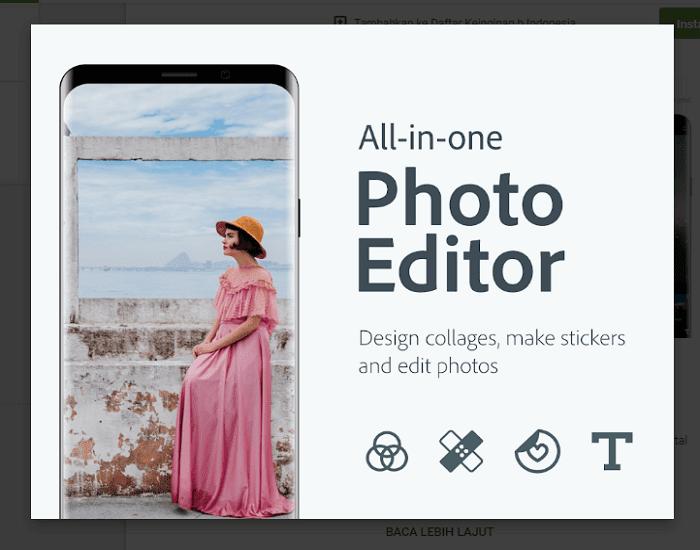 Aplikasi Edit Foto Android Terbaik dan Terlengkap