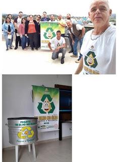 Apresentação da Campanha De Olho no Óleo no Paço Municipal