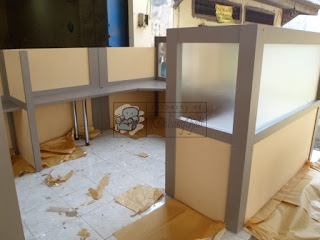 Meja Sekat Kantor Kirim Luar Jawa Furniture Semarang