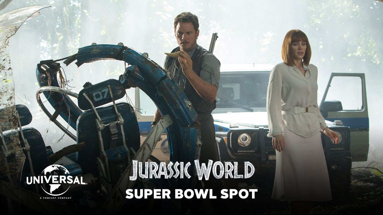 Jurassic World Official Super Bowl Spot