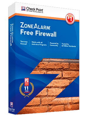 ZoneAlarm Free Firewall Box Imagen