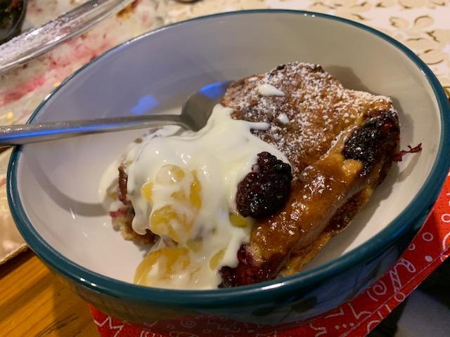 Pudding, Brioche, Christmas,