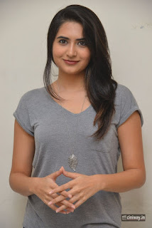 Vyoma Nandi Stills at Marala Telupana Priya Movie Success Meet