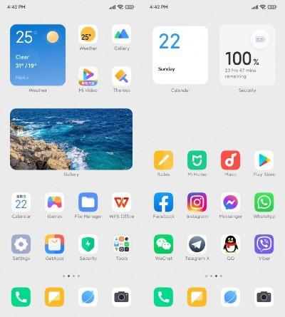 Xiaomi تعتمد تصميم جديد لواجهة MIUI 13 القادمة نهاية العام