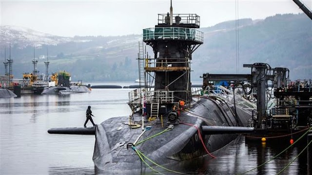 UK Royal Navy sacks 9 nuclear submarine personnel for drug abuse