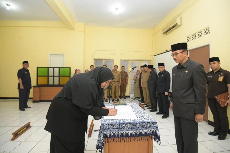 Pelantikan Susulan Pejabat Eselon III dan IV di Pemdaprov Jabar