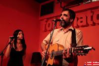 Santi Campos y Esther Rodriguez