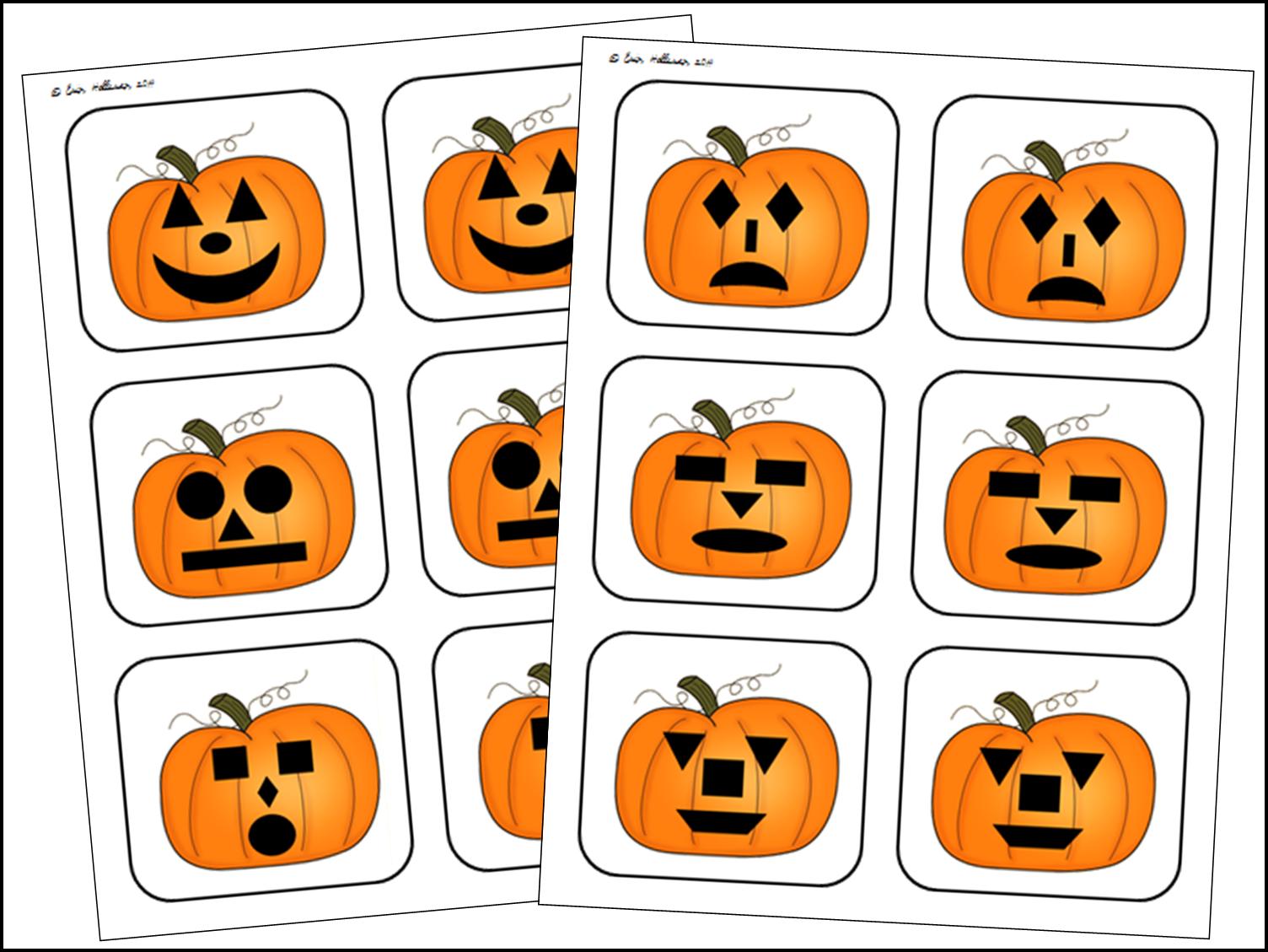 Preschool Ponderings Halloween Shapes And Emotions