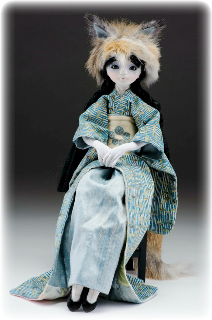 from these hands...: Doll #3- Kitsune