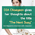 "DIA Chaeyeon gives her thoughts about the title ""The Next Suzy"""