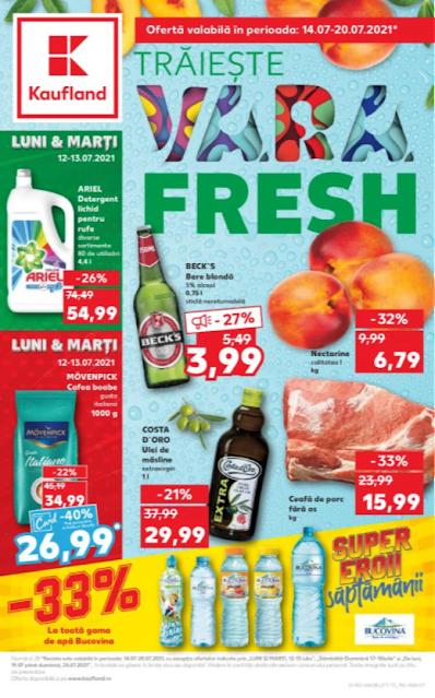 Kaufland Promotii + Catalog - Brosura 14-20.07 2021