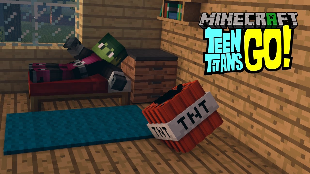 Minecraft Intro Template Teen Titans Go Minecraft