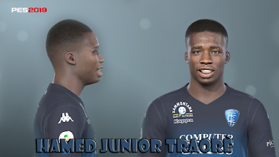 PES 2019 Faces Hamed Traorè by Prince Hamiz