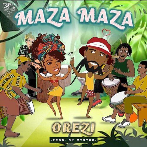 "Orezi – ""Maza Maza"" (Prod. by Mystro) (Mp3 Download)"