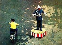 ... do Polícia Sinaleiro