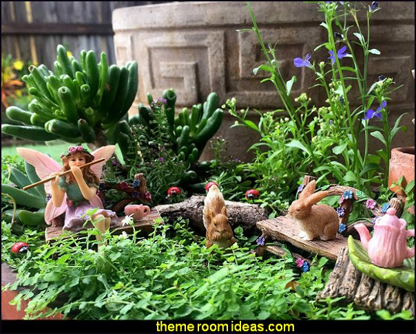 Fairy Garden Fairy Accessories – Miniature Fairy Figurine & Furniture – Fairy Garden Supplies