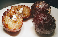 Chocolate chips Stuffed Kala Jamun recipe