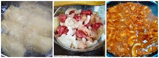 Process to make Cassava Lasagna with Seafood in Tomato Sauce (Paleo, Whole30, Gluten-Free) collage.jpg