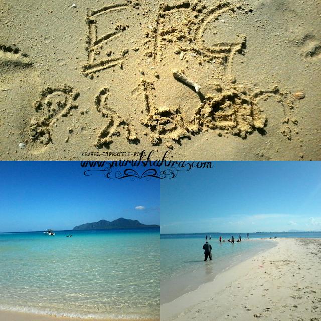 Tempat menarik di Semporna: Pulau Sibuan Sabah, Snorkling di Pulau Sibuan Sabah