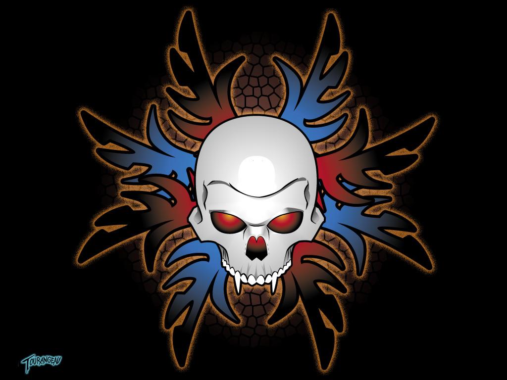 Tribal skull wallpaper |Clickandseeworld is all about ...